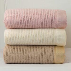 Cellular Wool Blankets