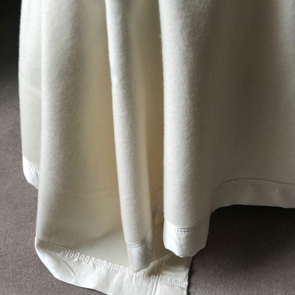Superior Silk Bound Blanket Detail