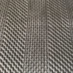 Soft Warm Grey Quilted Bedspread Detail