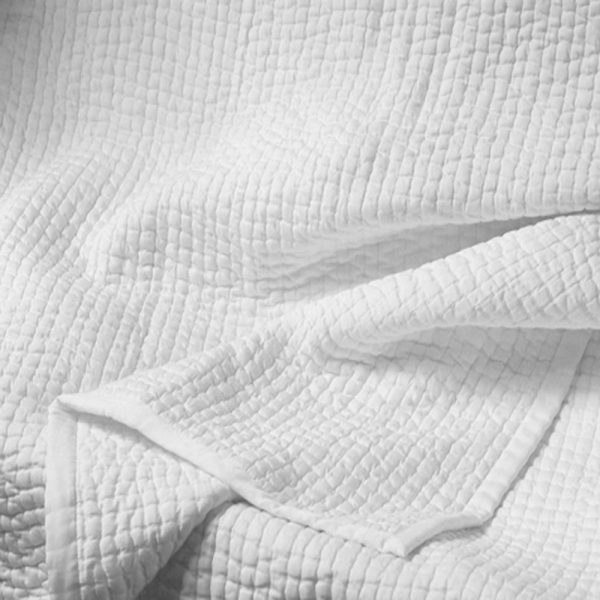 White Cotton Quilt