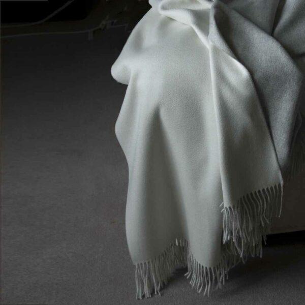 Silver Grey Melange/White