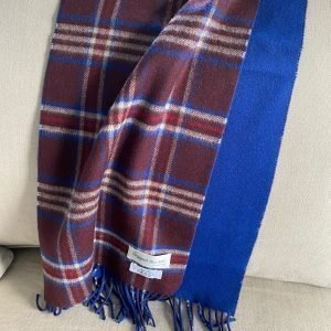 Wines and Blues Cashmere Scarf